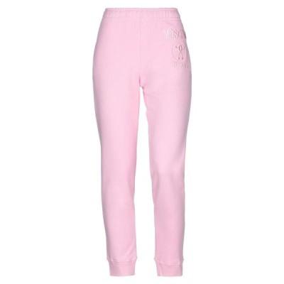 MOSCHINO スウェットパンツ  レディースファッション  ジャージ、スウェット  ジャージ、スウェットパンツ ピンク