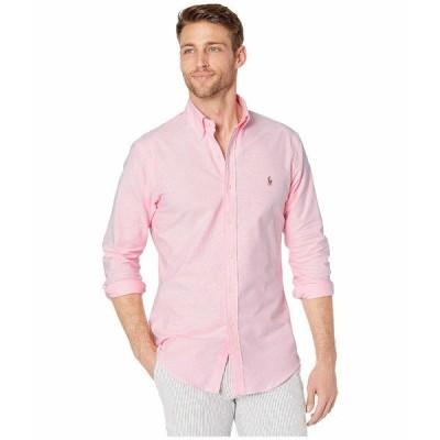ラルフローレン シャツ トップス メンズ Slim Fit Stretch Oxford Shirt BSR Pink