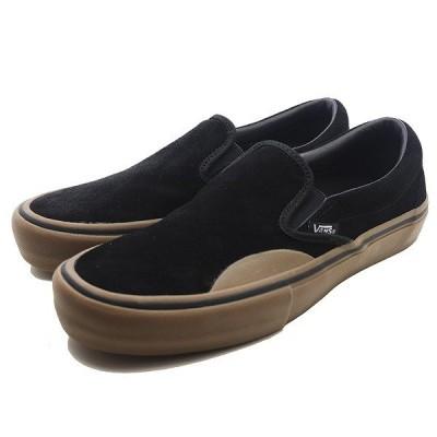 VANS バンズ スリッポン プロ [サイズ:26.5cm(US8.5)] [カラー:(ラバー) ブラック×ガム] #VN0A347VUHX VANS CLASSIC SLIP-ON (Camo) Black