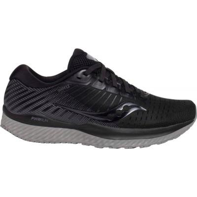 サッカニー Saucony レディース ランニング・ウォーキング シューズ・靴 Guide 13 Running Shoes Black