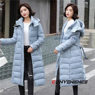 中綿ジャケット レディース 中綿ダウンジャケット 中綿入り ロングジャケット アウター フード付き 大きいサイズ 暖かい 中綿コート 防寒 カジュアル