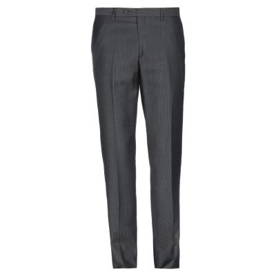 CARLO PIGNATELLI パンツ ブラック 50 ポリエステル 45% / バージンウール 37% / レーヨン 18% パンツ