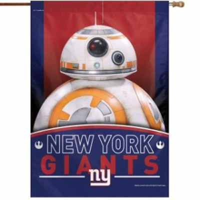 WinCraft ウィンクラフト スポーツ用品  WinCraft New York Giants 28 x 40 Star Wars Single-Sided House Banner
