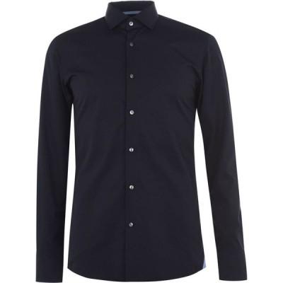 ヒューゴ ボス BOSS メンズ シャツ トップス Jesse Long Sleeved Shirt Navy