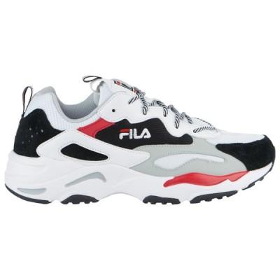 フィラ Fila メンズ スニーカー シューズ・靴 Ray Tracer White/Black/Red