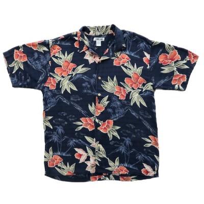CHEROKEE 開襟 アロハシャツ サイズ表記:L