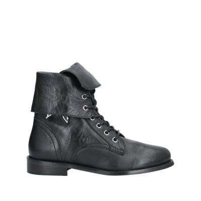 パトリツィア ペペ PATRIZIA PEPE ショートブーツ ブラック 40 革 100% ショートブーツ