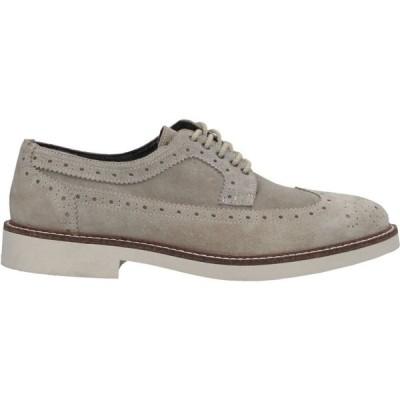 リチャード ラース RICHARD LARS メンズ 革靴・ビジネスシューズ シューズ・靴 Laced Shoes Grey