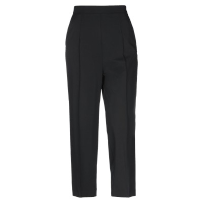 SOALLURE パンツ ブラック 44 ポリエステル 95% / ポリウレタン 5% パンツ