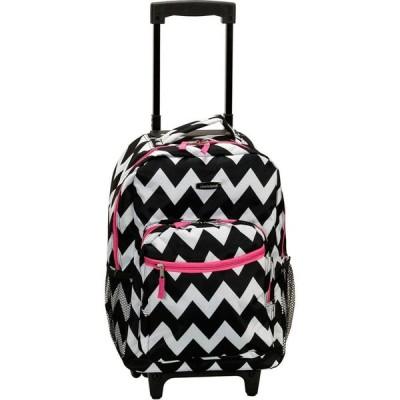 """ロックランド Rockland ユニセックス スーツケース・キャリーバッグ バッグ 17"""" Rolling Backpack Pink"""