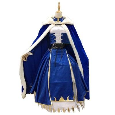 セイバーコスプレ衣装アルトリアペンドラゴンセイバーコスプレフェイトステイナイトUBWフェイトゼロソードコスプレコスチューム