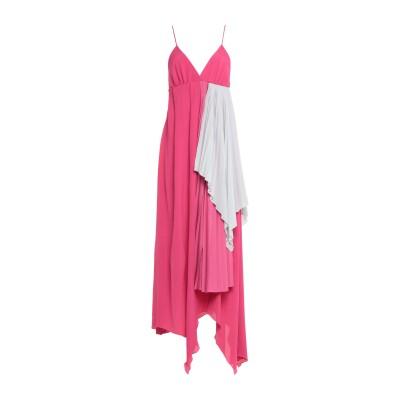 BEN TAVERNITI™ UNRAVEL PROJECT 7分丈ワンピース・ドレス フューシャ XS アセテート 76% / シルク 24% 7