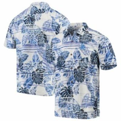 Tommy Bahama トミー バハマ スポーツ用品  Tommy Bahama Los Angeles Dodgers Royal Sport Super Fan Silk Camp Shirt