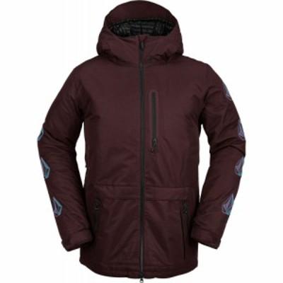 ボルコム Volcom メンズ スキー・スノーボード ジャケット アウター deadly stones snowboard jacket Black Red