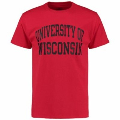 Champion チャンピオン スポーツ用品  Champion Wisconsin Badgers Red University T-Shirt