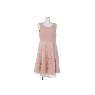 【Rew de Rew】バックスピンドール付ドレス(9R04-01044) (ピンク)