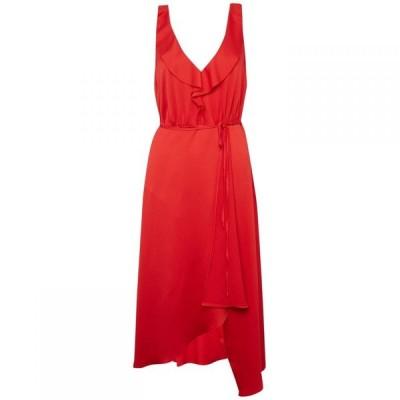 フレンチコネクション French Connection レディース パーティードレス ワンピース・ドレス Maudie Drape Ruffle Dress Red