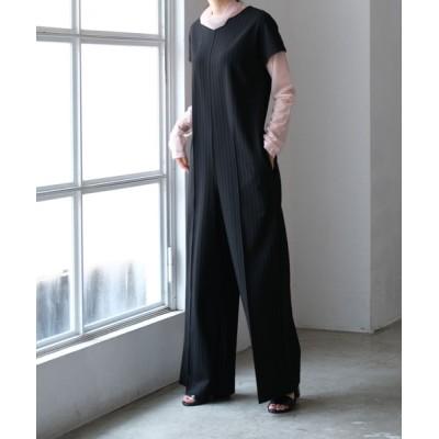 AKTE / Iラインジャンプスーツ WOMEN オールインワン・サロペット > つなぎ/オールインワン
