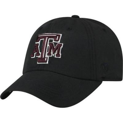 トップオブザワールド メンズ 帽子 アクセサリー Top of the World Men's Texas A&M Aggies Maroon Staple Adjustable Hat
