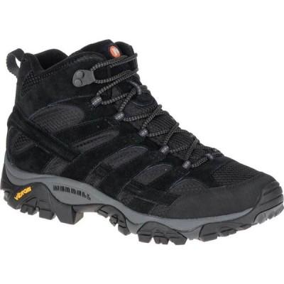 メレル Merrell メンズ ハイキング・登山 シューズ・靴 Moab 2 Vent Mid Hiking Shoe Black Night