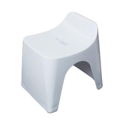ヒューバス(HUBATH) バススツール h30 ホワイト│お風呂用品・バスグッズ バスチェアー・風呂椅子 東急ハンズ