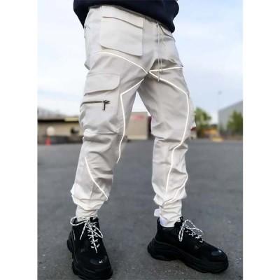 「GUAPI」 カーゴパンツ メンズ ジョガーパンツ トラックパンツ スウェット パンツ ボトムス