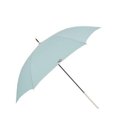 ノーブランド No Brand CONVERSE コンバース 軽量雨傘 ワンポイント刺繍 60cm (サックス)