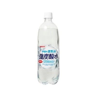サンガリア 伊賀の天然水 強炭酸水1L x 12個