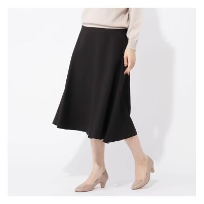 【グローブ/grove】 【S-LL】千鳥リバーシブルフレアースカート