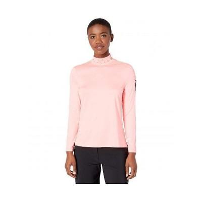 Jamie Sadock ジェイミーサドック レディース 女性用 ファッション アクティブシャツ Mock Neck Long Sleeve Top - Super Nova