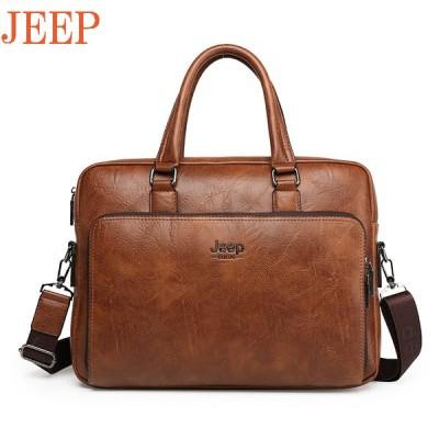 3WAY ビジネスバッグ メンズ トートバッグ 手持ち ショルダーバッグメンズ JEEP BULUO 高級海外人気トップブランド