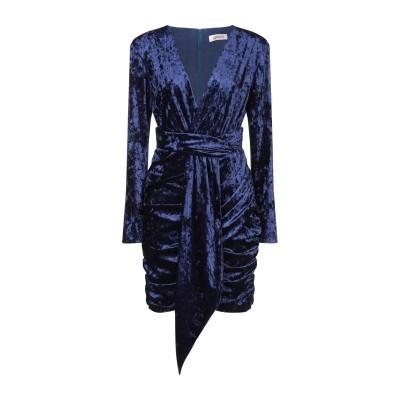 コンタット KONTATTO ミニワンピース&ドレス ブルー XS ポリエステル 94% / 指定外繊維(その他伸縮性繊維) 6% ミニワンピース&