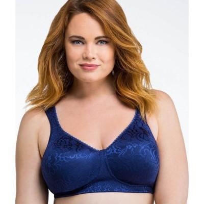 プレイテックス Playtex レディース ブラジャーのみ インナー・下着 18 hour ultimate lift and support wire-free bra Blue Velvet