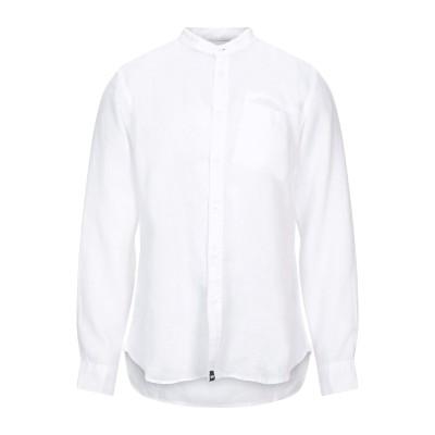 GAS シャツ ホワイト XS リネン 100% シャツ
