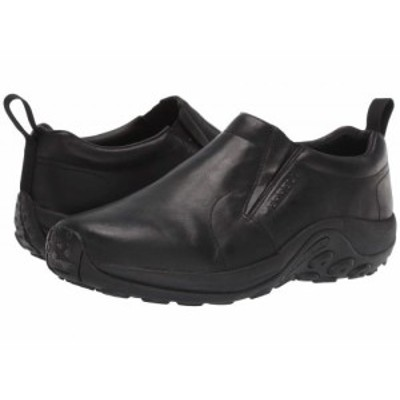 Merrell メレル メンズ 男性用 シューズ 靴 ローファー Jungle Moc Leather 2 Black【送料無料】