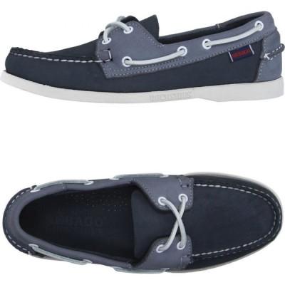 セバゴ SEBAGO DOCKSIDES メンズ ローファー シューズ・靴 loafers Slate blue
