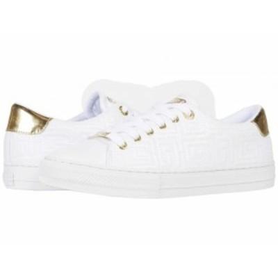 GUESS ゲス レディース 女性用 シューズ 靴 スニーカー 運動靴 Lodenn White【送料無料】