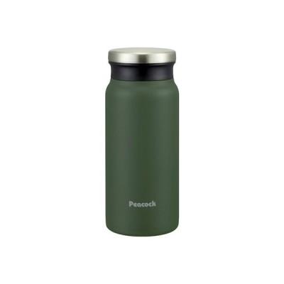 ピーコック ステンレスボトル マグタイプ 0.4L AMZ-40 カーキ│水筒・魔法瓶 水筒 東急ハンズ