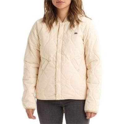 バートン レディース ジャケット・ブルゾン アウター Burton Kiley Insulator Jacket - Women's Creme Brulee