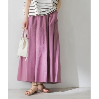 URBAN RESEARCH / コットンギャザーマキシスカート WOMEN スカート > スカート