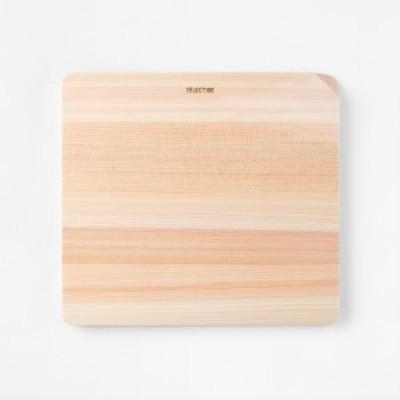 KAI/貝印 000AP5125 カッティングボード まな板 230×210mm SELECT100 薄型 軽量 コンパクト ひのき 食洗器対応