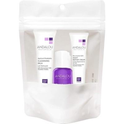 オーガニック ボタニカル トライアルキット 化粧水 洗顔料 ナチュラル フルーツ幹細胞 「 エイジディファイングトライアルキット2019 」