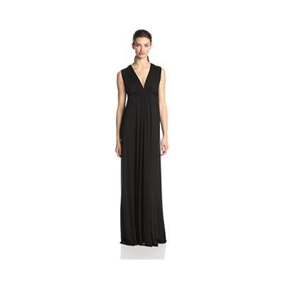 Rachel Pally レディース Sleeveless Maxi ドレス,ブラック,スモール(海外取寄せ品)