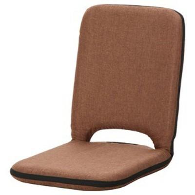 座椅子/パーソナルチェア 〔ブラウン〕 幅40cm リクライニング 『2 PACK シオン』 〔4個セット〕 〔送料無料〕