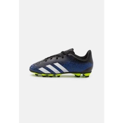 アディダス キッズ スポーツ用品 PREDATOR FREAK .4 FXG UNISEX - Moulded stud football boots - royal blue/footwear white/core black