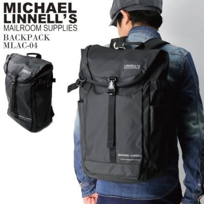 (マイケル リンネル) MICHAEL LINNELL バックパック リュックサック デイパック 31L 撥水加工 軽量素材 高耐久性 メンズ レディース