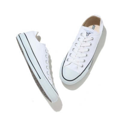 (ViS/ビス)【CONVERSE】CANVAS ALL STAR COLOR OX/レディース ホワイト(10)