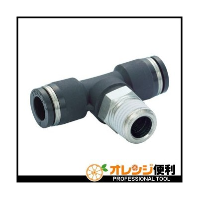 PISCO ピスコ チューブフィッティング ティー 適合外径4×4mm 接続口径R1/8 PB4-01 【290-9723】