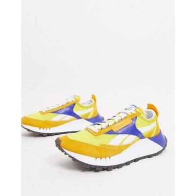 リーボック メンズ スニーカー シューズ Reebok Classic Legacy sneakers in yellow