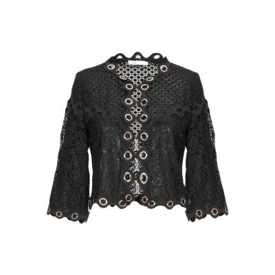 MAJE テーラードジャケット ブラック 1 ポリエステル 100% テーラードジャケット
